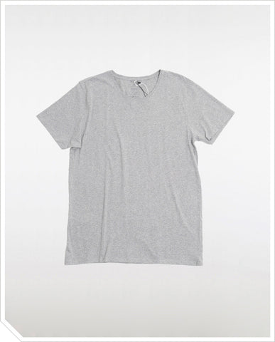 Crew Neck Tee - Heather