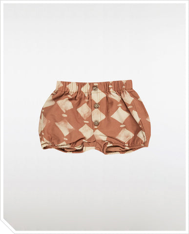 Diamond Shorts - Rosewood