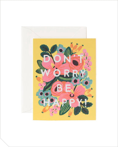 Special Days Greeting Card - Don't Worry Be Happy
