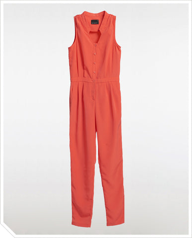 Emily Jumpsuit - Cherry