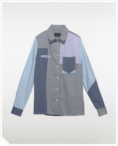 It's Complicated Shirt - Rugged Denim
