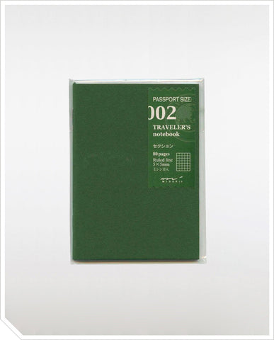 Refill Passport Notebook - Grid