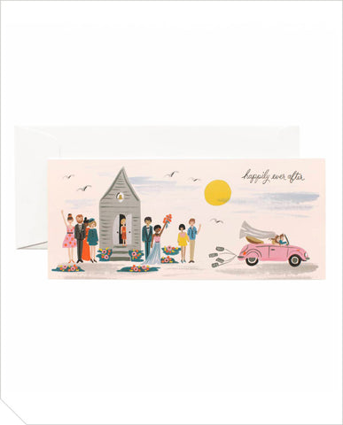 Wedding Greeting Card - Wedding Send Off