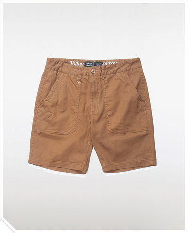 Kea Shorts - Dark Tan
