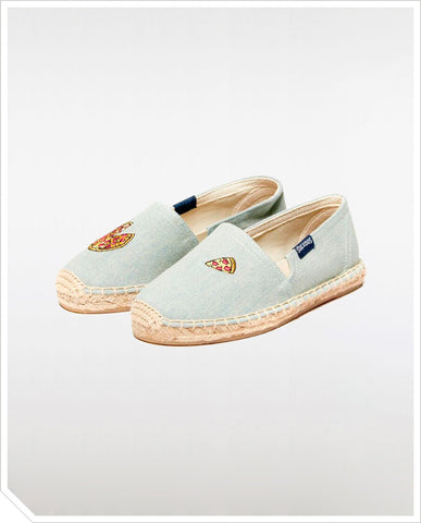 Kids Original Espadrilles - Pizza Chambray