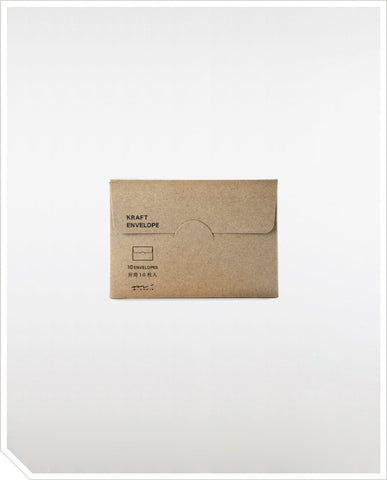 Kraft Envelope Horizontal - Grey