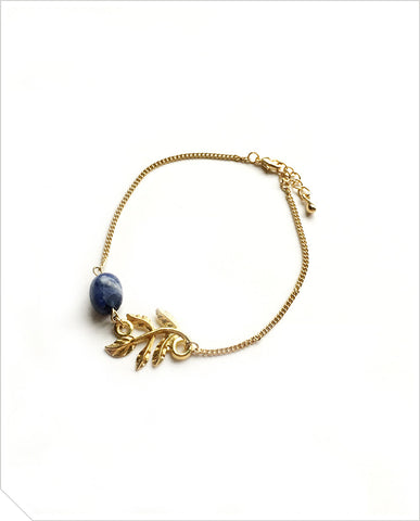 Kyanite Bracelet - Dark Blue
