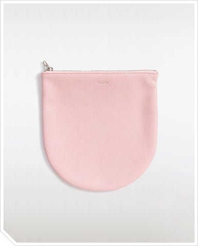 Large U Pouch - Powder Pink