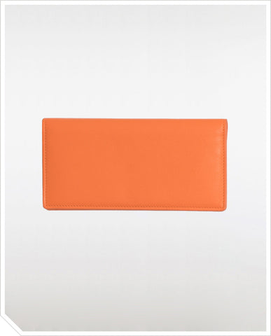 Carré Royal Long Wallet - Orange