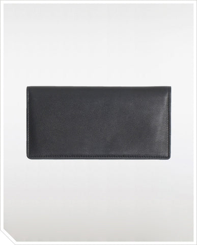 CarréRoyal Long Wallet - Black