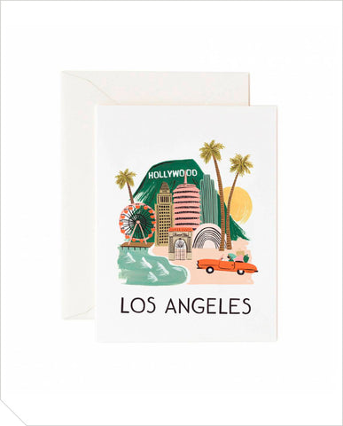 Special Days Greeting Card - Los Angeles