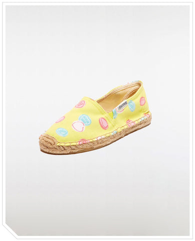 Kids Original Espadrilles Love Sweets - Yellow