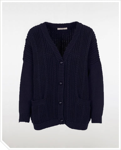 Lumiar Cardigan - Navy