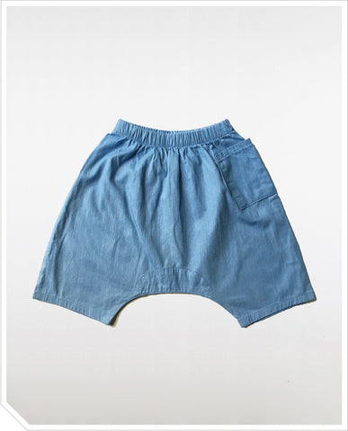 Momo Harem Pants - Light Blue