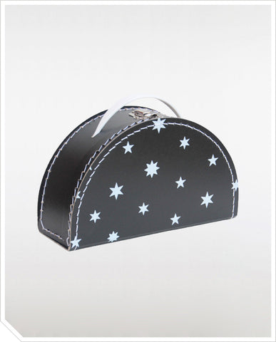 Monochrome Star Suitcase
