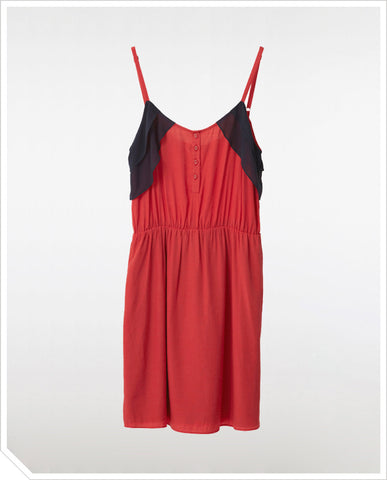 Moonrise Dress - Coral
