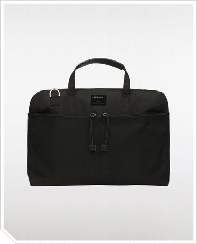 Noel Laptop Bag - Black