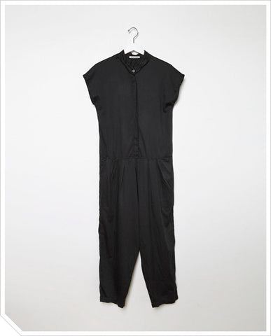Oversized Jumpsuit - Black