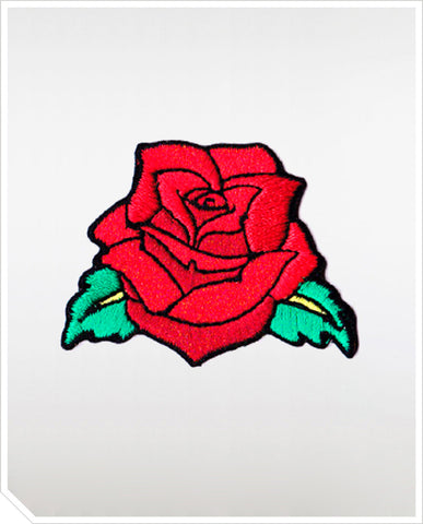 Iron On Patches - Rose Tattoo