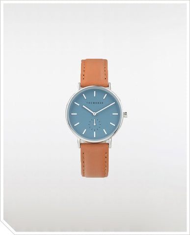 The Classic - Sea Salt Blue / Tan