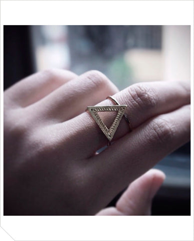 Pyrie Ring - Brass