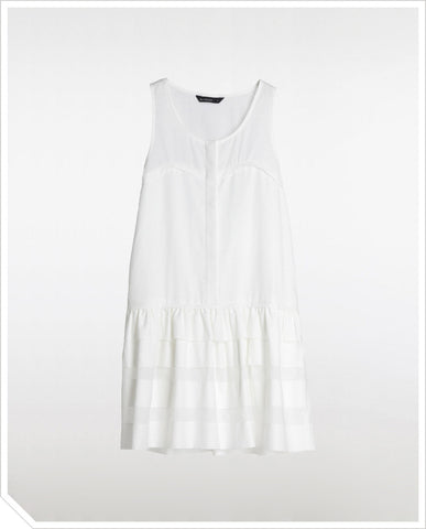 Cut Out Dress - Pearl