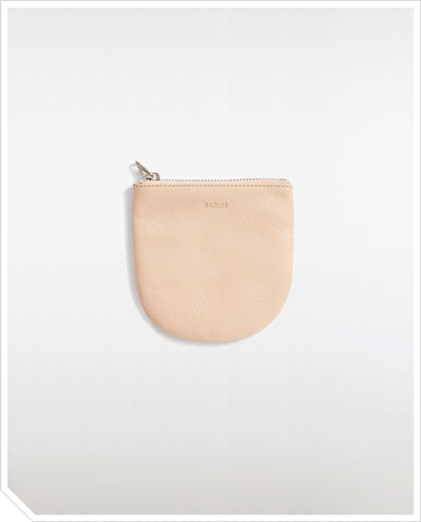 Small U Pouch - Natural