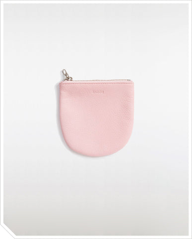 Small U Pouch - Powder Pink