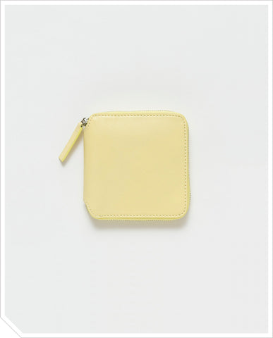 Square Wallet - Lemon