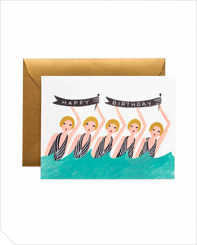 Birthday Greeting Card - Synchronized
