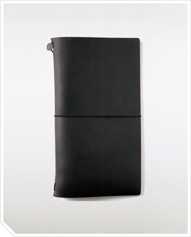 Traveler's Notebook (Regular) - Black