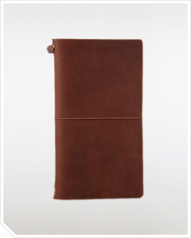 Traveler's Notebook (Regular) - Brown