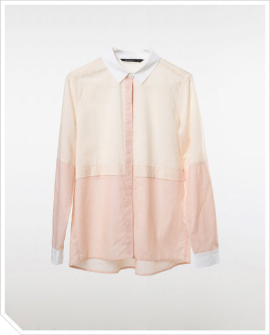 Trooper Shirt - Faded Peach
