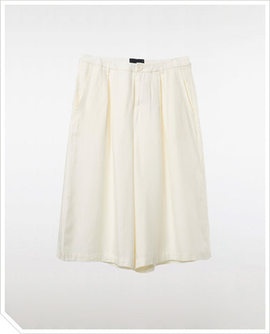 Weekender Culottes - Whisper White