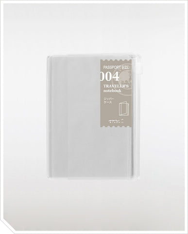 Refill Passport Notebook - Zipper Pocket