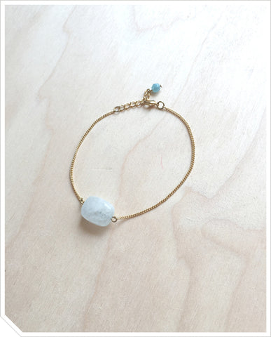 Aquamarine Bracelet - Light Blue