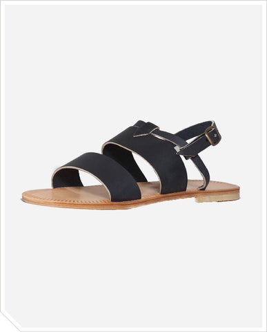 Olympe Sandals - Navy