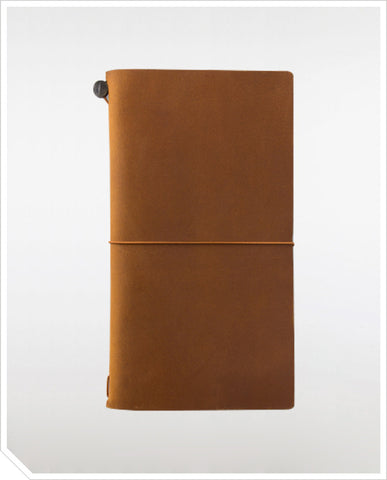 Traveler's Notebook (Regular) - Camel