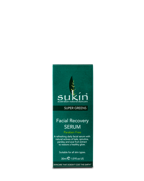 Sukin Natural Super Greens Facial Recovery Serum