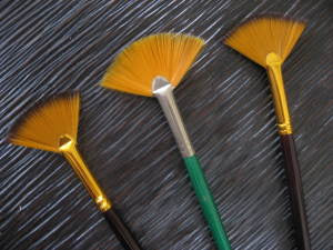 Fan Paint Brushes
