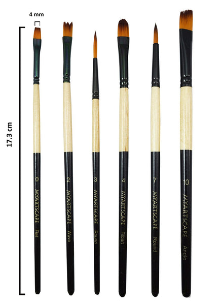 6-Pc Deluxe Brush Starter Set