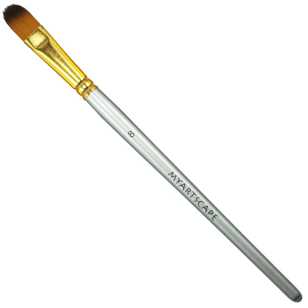 Taklon Synthetic Brush - Short Handle Replacement Brushes