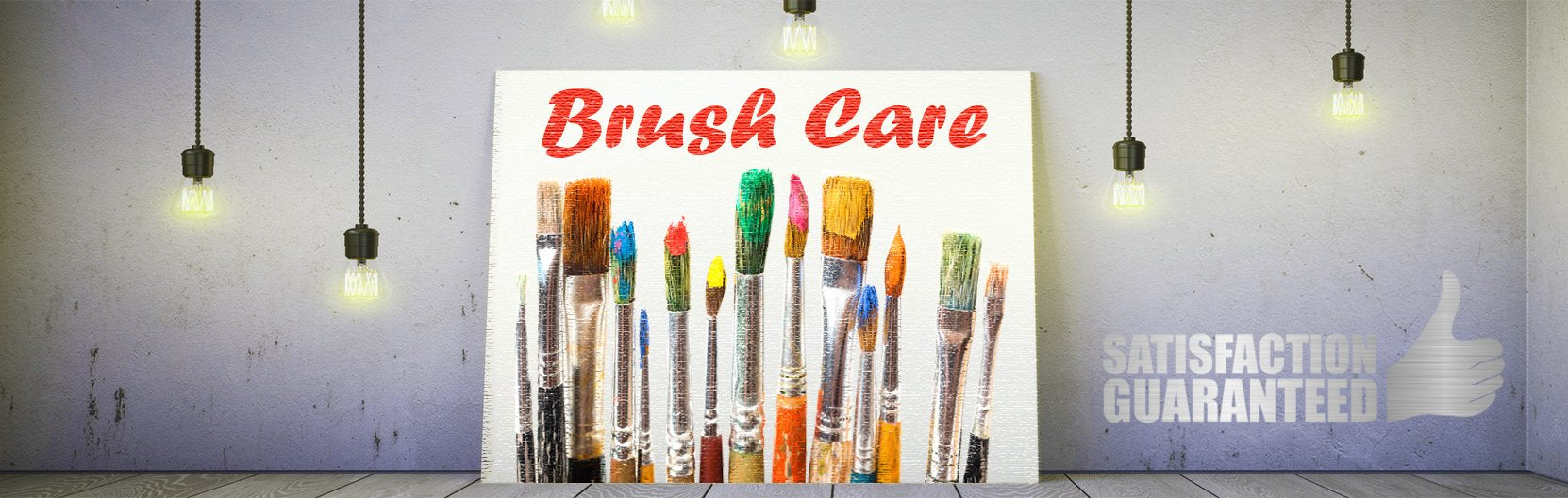 MyArtscape Brush Care Tips