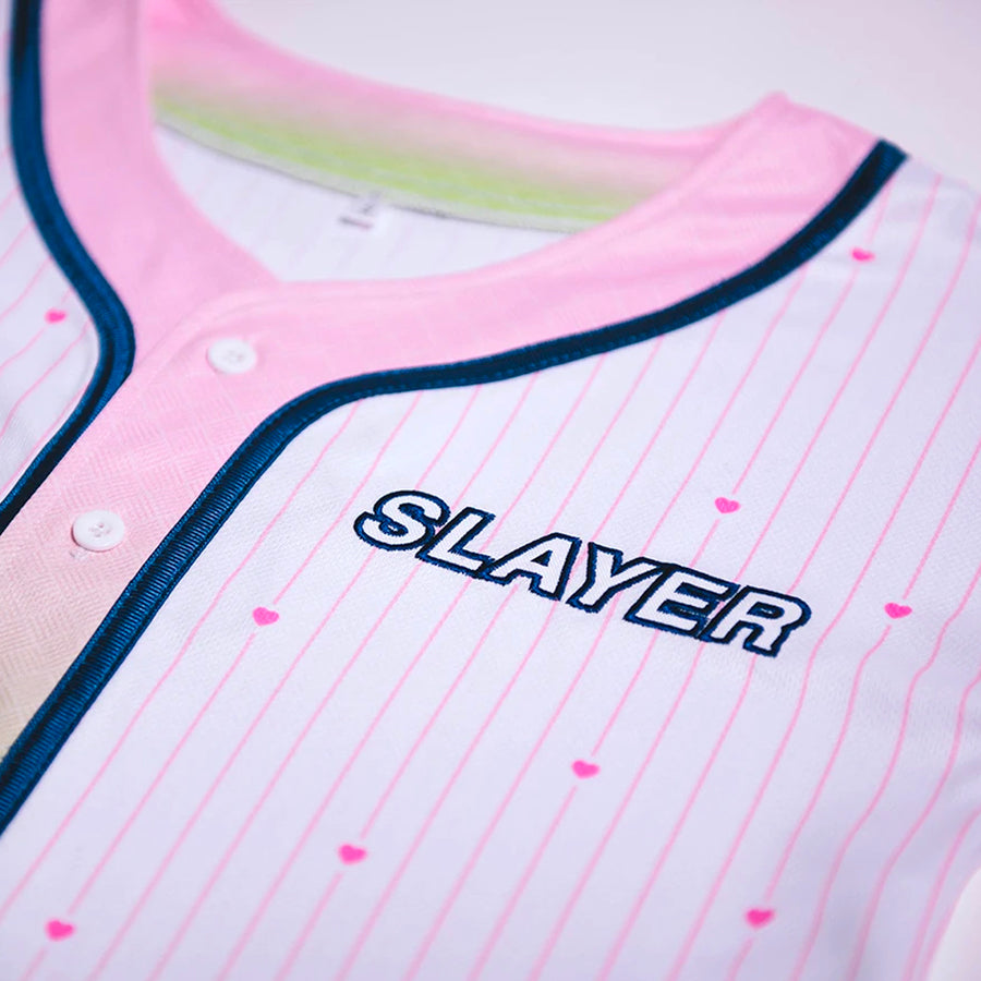 Slayer // Love Hype-Lethics Crop Jersey