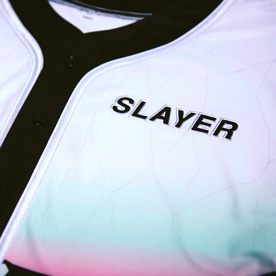 Slayer // Poison Hype-Lethics Crop Jersey