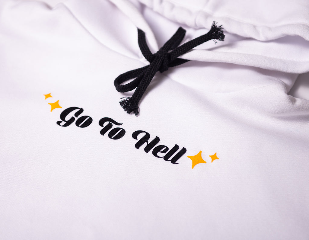 Mio x Toshikigirl 'Go To Hell' Crop Top Hoodie