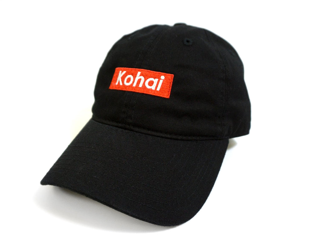 Kohai Box Logo Dad Hat -Black