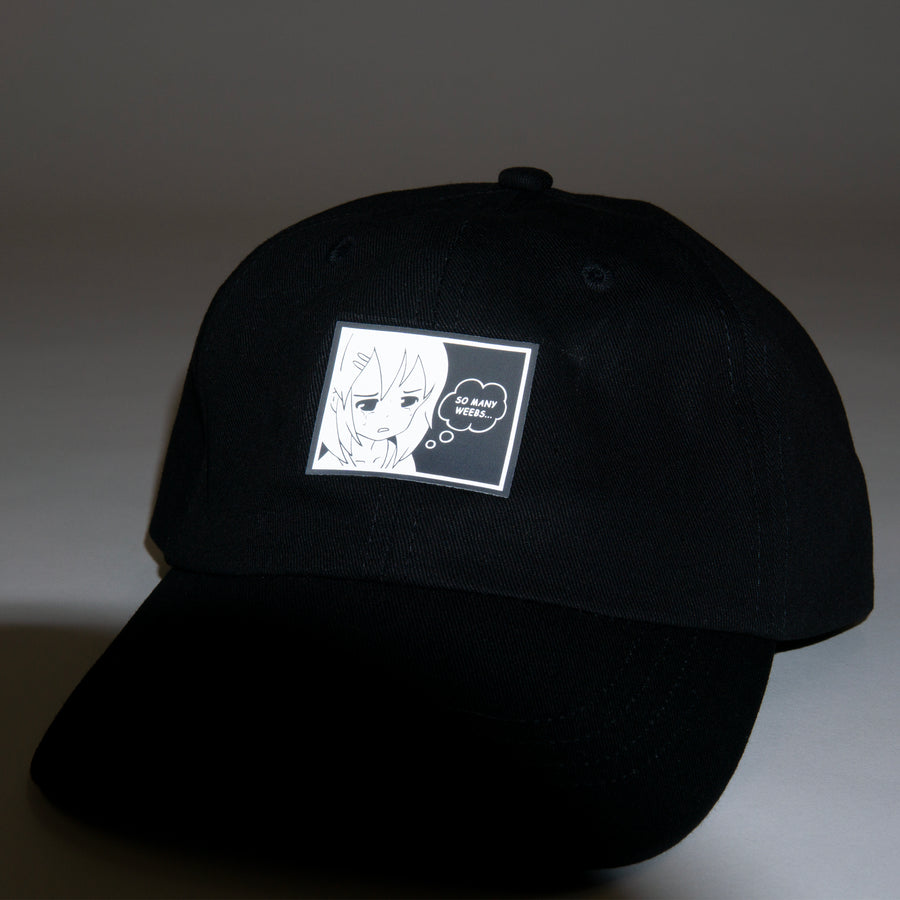 HD Relfective 'So Many Weebs Dad Hat'