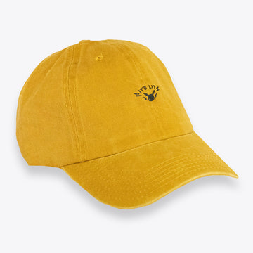 HD It's Lit Yellow Dad Hat