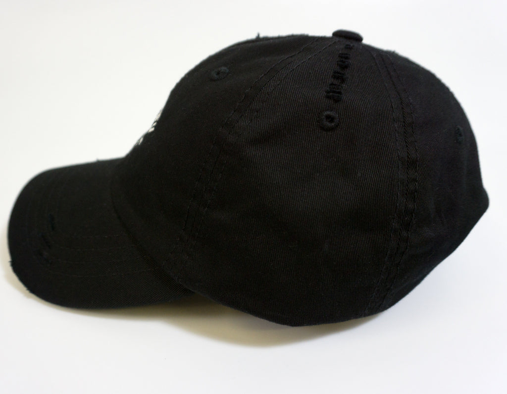 Your Waifu is Trash Dad Hat Thrasher -Black